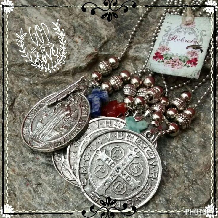 Amuleto San Benito x Hebreka