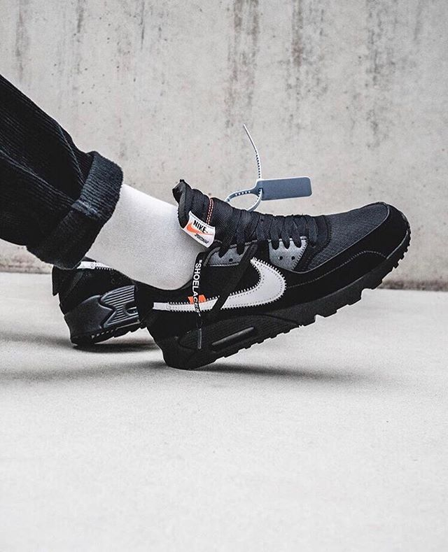 reputable site 3ab0d 92456 Instagram | off white airmax in 2019 | Air max 90 black ...