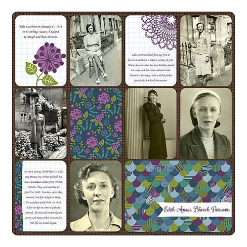 Layout by Sheri; Supplies: Becky Higgins Project Life: Dream Big / April Digi Files