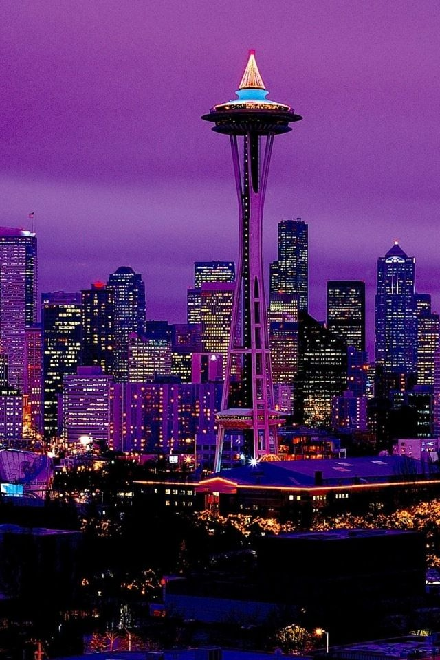 City of Purple Purple city Wallpaper for iPhone HD