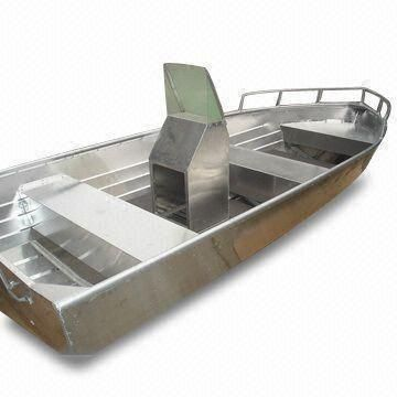 aluminum boat console | Home > Fishing Boats > Fishing Boat with Aluminum Console and 40hp ...