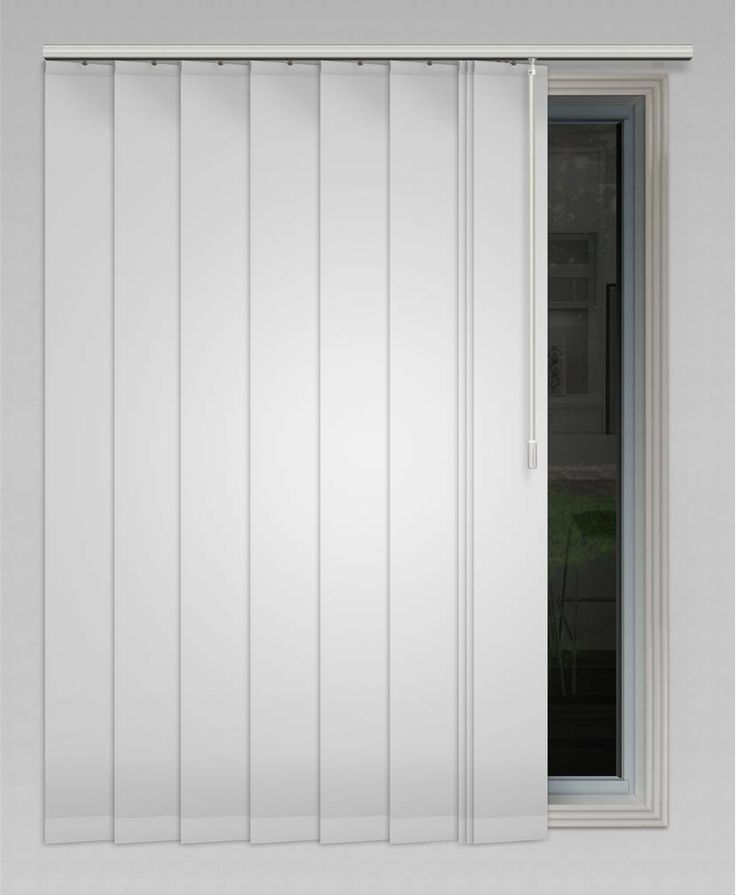 Yes Vibe 127mm (Blockout) Vertical Blind - Available in 19 colours! #vertical #blinds