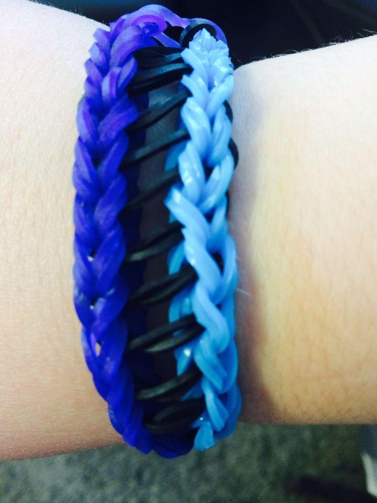 Ladder- Bridge rainbow loom bracelet | Rainbow Loom ...