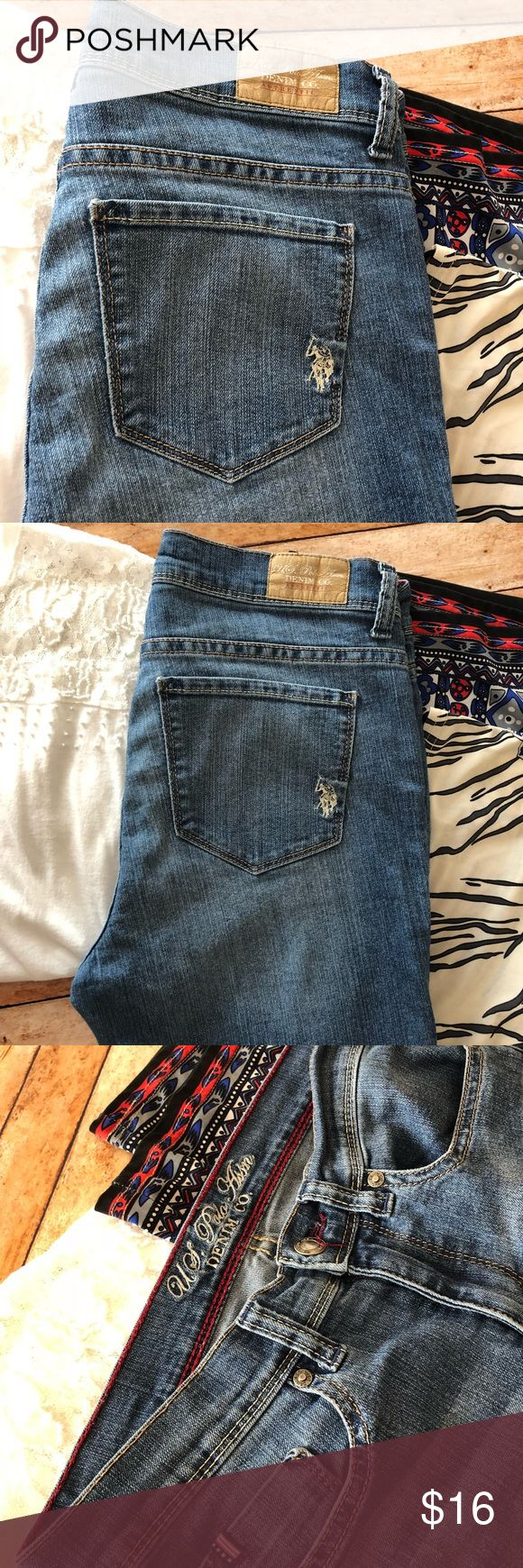 Just In ⭐️  Polo Jeans Polo Jeans  • Size 8 • pre-loved  ⭐️Bundle and Save  ⭐️ Reasonable Offers Welcomed U.S. Polo Assn. Jeans Straight Leg
