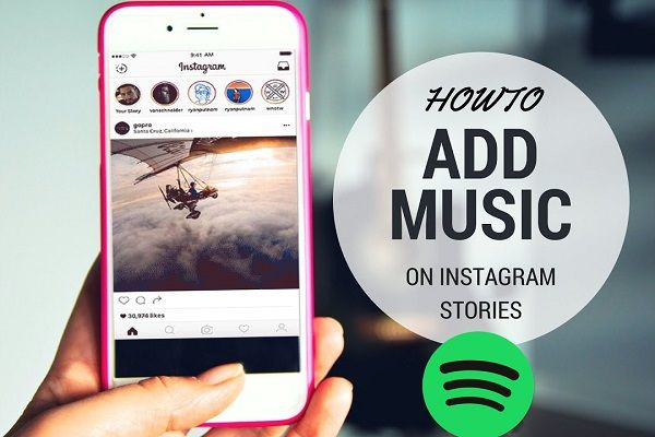 How To Add Spotify Music To Your Instagram Stories Instagram Story Instagram Songs