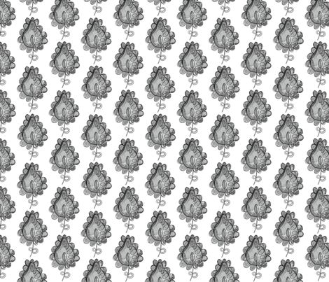 Whimsical leaf fabric by milly_dee on Spoonflower - custom fabric