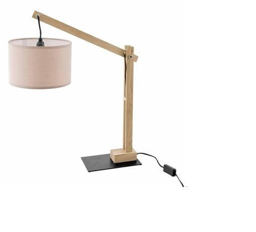 Lampada da tavolo in legno NATURA