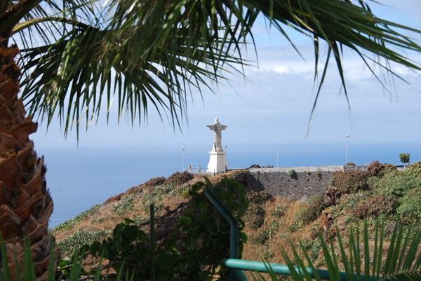 Wanderung zur Statue Christo Rei in Garajau auf Madeira. Bilder von der Ponta do Garajau, Funchal und Canico. Wellness auf Madeira.