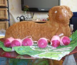 Recept Velikonoční beránek I. od belafis - Recept z kategorie Dezerty a sladkosti