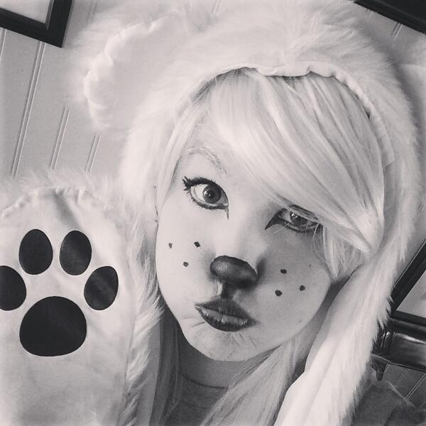 Cute Polar Bear by Bahcita
