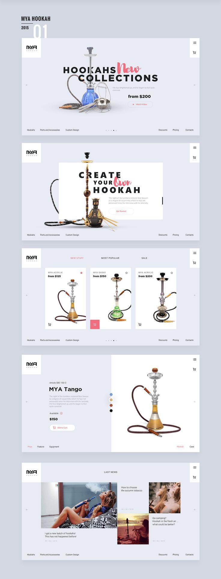 Mya Hookah by Valery Gurkov
