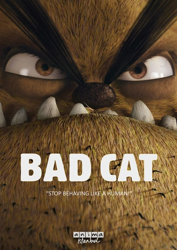 Turkish cat movie: Bad Cat. Based on the comics by Bülent Üstün. Expect a mix between Ted, Garfield and Braindead. Read more: http://www.celluloiddiaries.com/2017/04/bifff-movies-youll-want-to-watch-now.html (cat movies, Turkish movies, Turkish films, Bülent Üstün, cat comics, Garfield, Ted, Braindead, animated movie about cats, animated films)