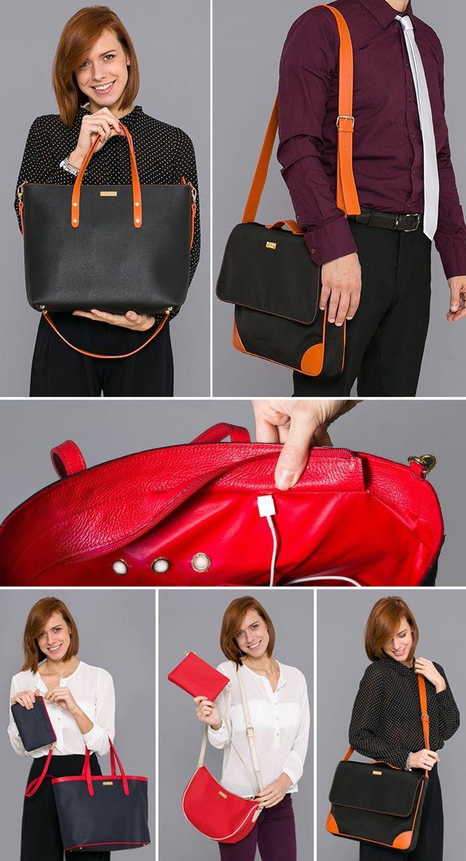 The Smartbag: The world's most beautiful hi-tech fashion bag by Ipnotica LLC — Kickstarter