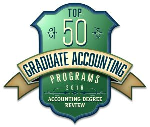 Top 50 Accounting Grad Programs Ranked 2016 To create the list we have combined three accounting rankings to come up with our own list. The rankings are from U.S. News and World Report, Public Accounting Report and Brigham Young University (BYU). We also took into account the AACSB accreditation ( Association to Advance Collegiate Schools of Business), which is a benchmark for quality and is highly desired by business schools.Whether you choose an MBA program with an emphasis in accounting…