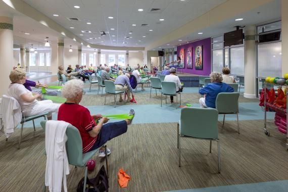 Senior Activity Room  TC ideas in 2019  Activity room Senior care centers Senior assisted