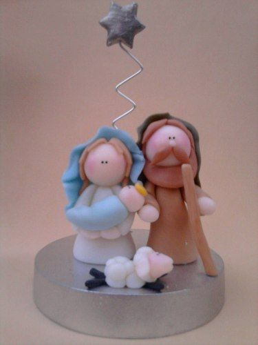 pesebre - nacimiento - belen en porcelana frìa