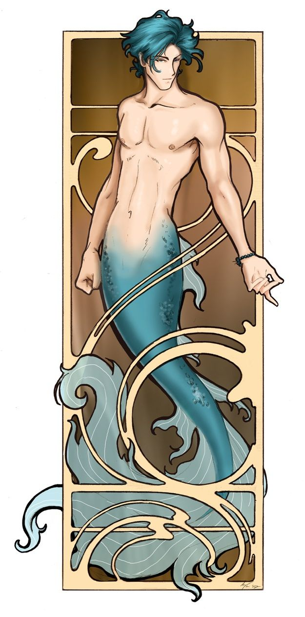 if I was reincarnated in my next life based on my horoscope...this is what I'd want to look like #Pisces #Merman #mermaid #water