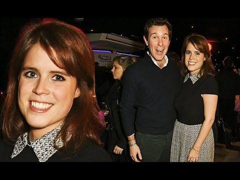 Princess Eugenie and Her Boyfriend Jack Brooksbank at restaurant launch ...