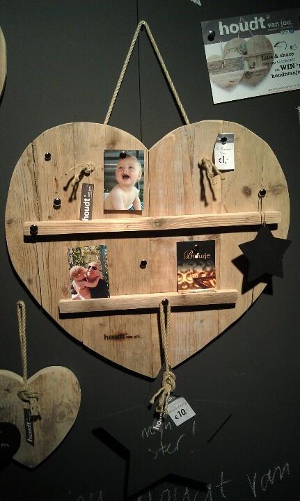 Van steigerhout, hart