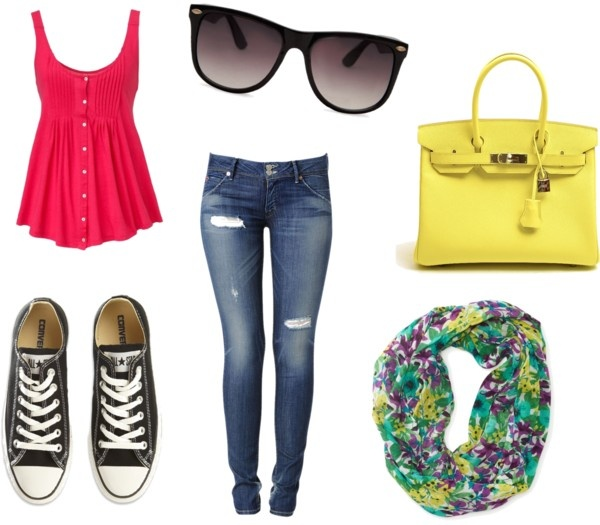 """summer outfit"" by hannasdfg on Polyvore"