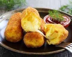 Croquettes de polenta au fromage                                                                                                                                                                                 More