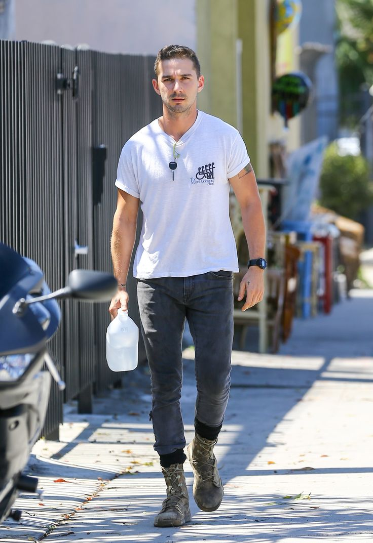 Shia LaBeouf seen on July 07, 2014 in Los Angeles, California.  -Cosmopolitan.com