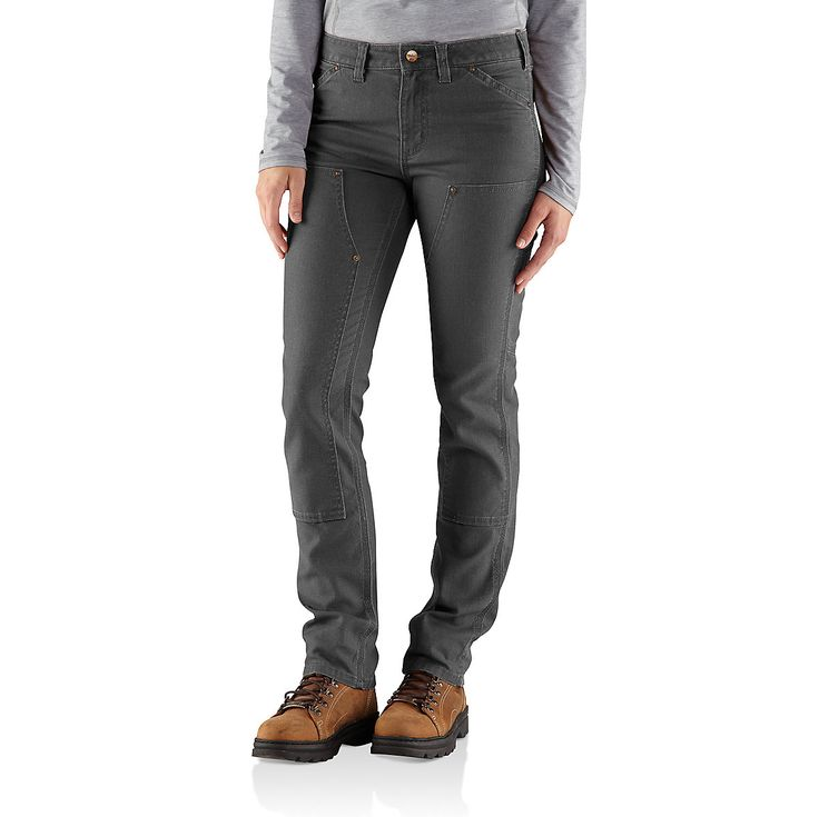 Carhartt Series 1889 Slim Double Front Dungaree. They have pockets!
