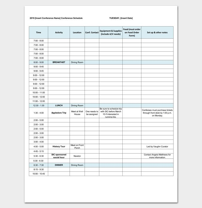 113 best Outline Templates - Create a Perfect Outline images on - conference agenda template