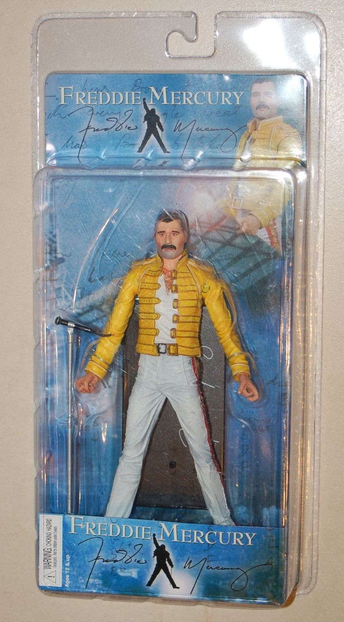 Freddie Mercury action figure from 1986 tour