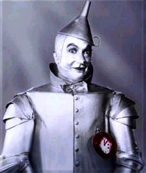 wizard of oz movie stills | In The Wizard of Oz, the tin man is looking for a heart