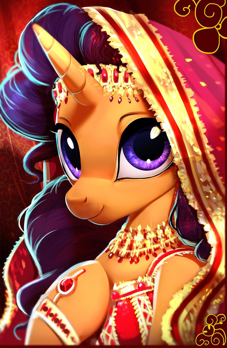 Saffron Masala by Imalou Finally mlp adds an Indian pony!