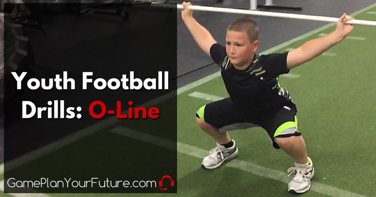 What is the Best Football Drill for Youth Football Players that play on the offensive line? These are the best football drills for kids.