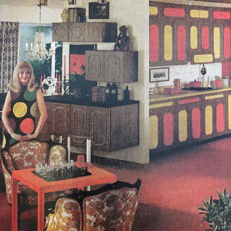 Instagram user @undercoverobjects found this #midmodkitchen #tbt Formica® Laminate ad! .