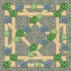 17 best images about garden plans on pinterest gardens for Herb knot garden designs