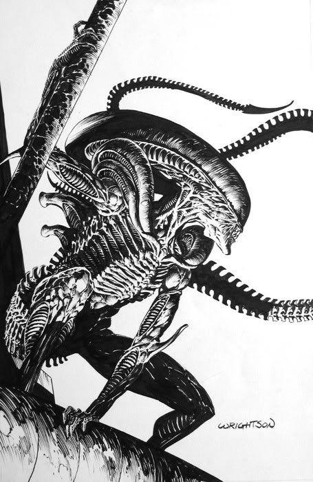 Bernie Wrightson // Alien