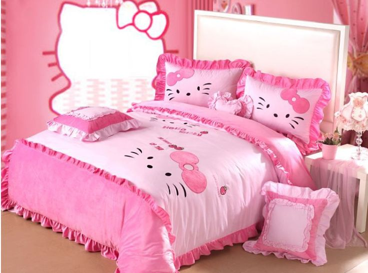 Great Cheap Bedding Set Hello Kitty, Buy Quality Bedding Sets In A Bag Directly  From China Textile Strap Suppliers: ***Read Before Buying***The Bedding Sets  Only ...