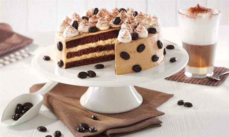 Kleine Latte-Macchiato-Torte Rezept | Dr. Oetker