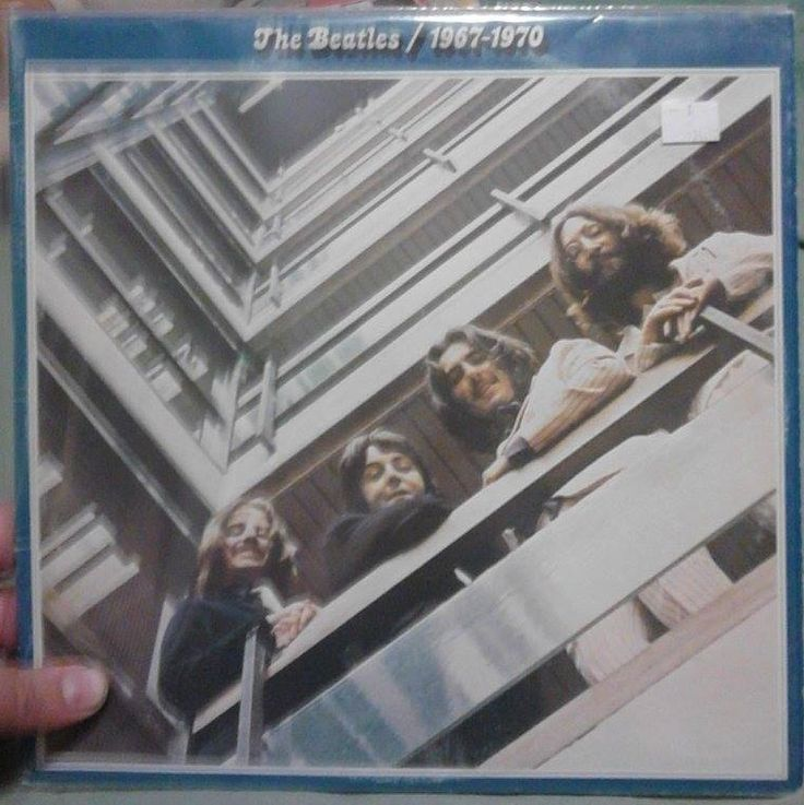 The Beatles 1967-1970 Blue Album On Vinyl