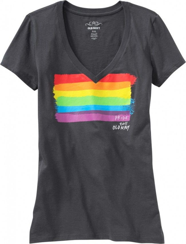 Old Navy Debuts Gay Pride T-Shirts For It Gets Better