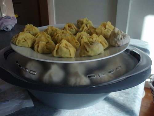 Steamed #dumplings in the #Thermomix - a Varoma #Recipe