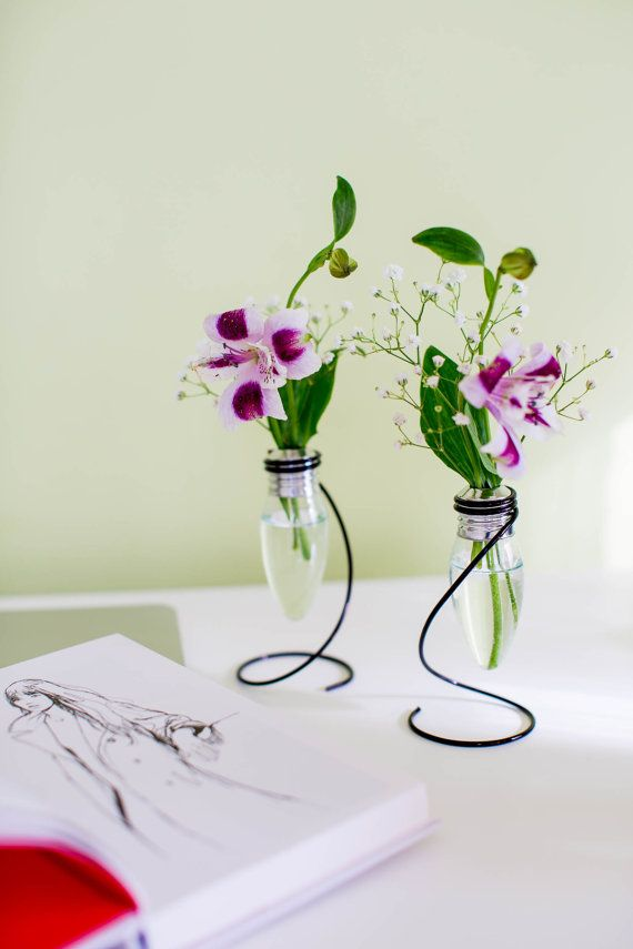 New in store Set of Vintage Flower Vases by ExclusiveDesignArt