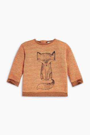 Buy Ginger Fox Jersey Jumper (0mths-2yrs) online today at Next: Finland