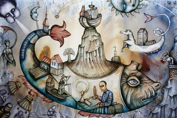 The Island Of Lost Serenity by Eugene Ivanov #eugeneivanov #sea #voyage #sail #ship boat #cruise #sailor #captain #seafarer #seaman #mariner #vessel #boat #@eugene_1_ivanov