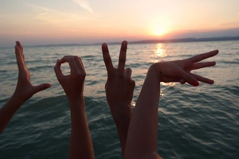love SUMMER sunset