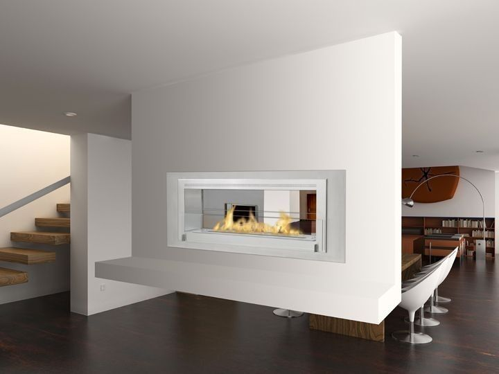 Gas fireplaces and Modern fireplaces
