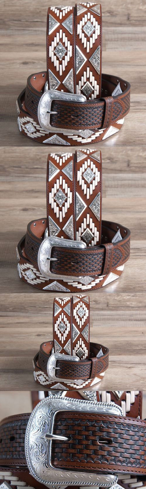 Baseball Belts 181334: 36 3D 1 1/2 Brown Mens Hand Tooled Western Leather Cowboy Fashion Belt -> BUY IT NOW ONLY: $89.99 on eBay!