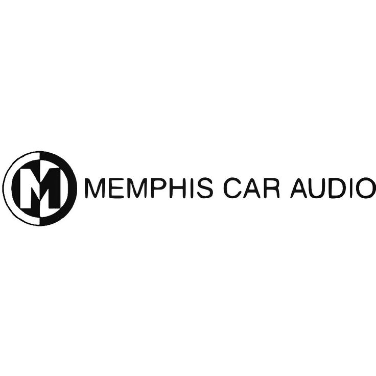 Memphis Car Audio Logo Car Vinyl Decal Sticker  BallzBeatz . com