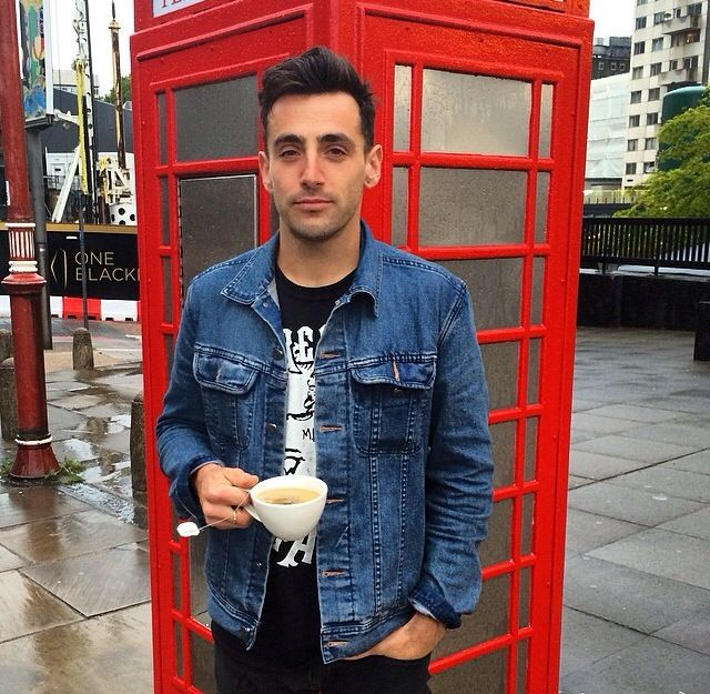 Hedley in London ohhhhhhh this guy!!!!! so lovely