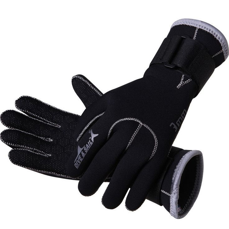 3mm Swim Gloves Neoprene Scuba Dive Gloves Snorkeling Equipment Anti Scratch Keep Warm Wetsuit Material Winter Swim Spearfishing