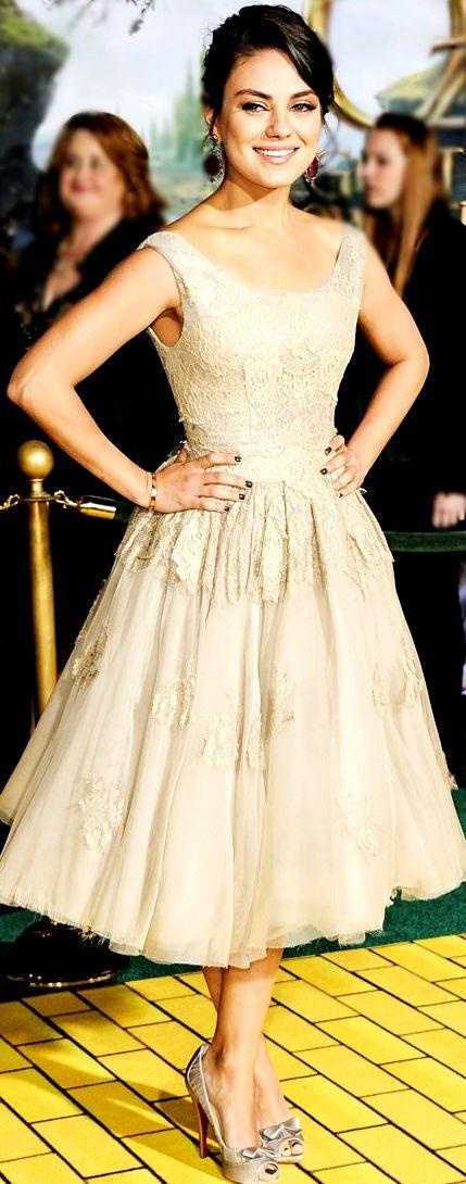 Mila Kunis  -love the dress